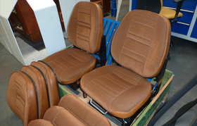 New complete seats for Scania 0/1 Series