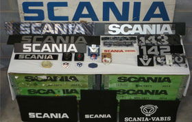 Scania Classics Badges